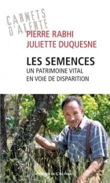 Couverture du livre de Pierre Rabhi Les semences