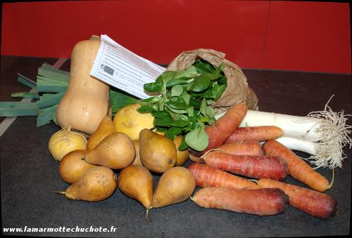Un panier de fruits et légumes bio et solidaires   La marmotte chuchote 29fa078f5146