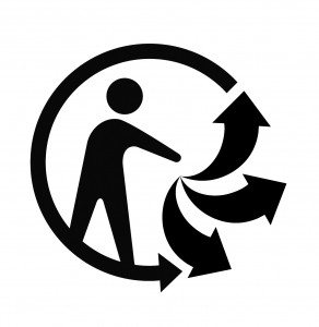 Le logo Triman
